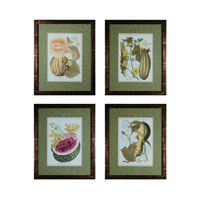 Sterling Industries Fruit on the Vine Set of 4 Wall Art 10046-S4
