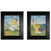 Sterling 10050-S2 Primitive Rooster Wall Art photo thumbnail
