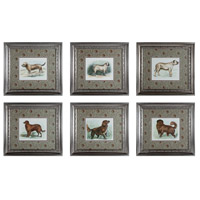 Sterling 10052-S6 Classic Dogs Wall Art