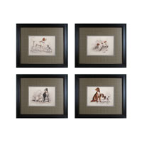 Sterling 10054-S4 Dog Duos Wall Art