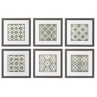 Symmetry Blueprint Wall Art