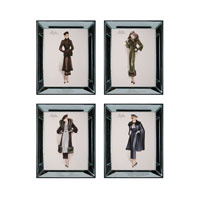 Sterling Industries Modeles Originaux Set of 4 Wall Art 10063-S4