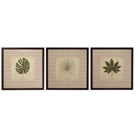 Sterling Industries Leaves Set of 3 Wall Art 10068-S3