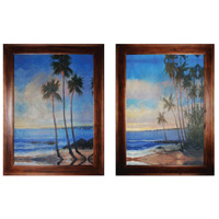 Sterling Tropical Breeze I and II Framed Art 10215-S2