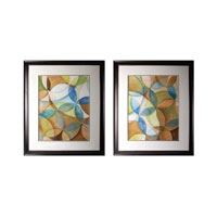 Sterling Circulate I and II Framed Art 10220-S2
