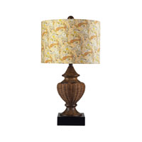 Sterling Industries Ashmount Table Lamp in Natural Rattan 111-1083
