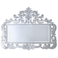 Epernay I 55 X 43 inch Clear Wall Mirror Home Decor