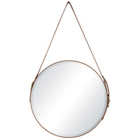 Well-Heeled 20 X 20 inch Tan and Gold Wall Mirror, Large