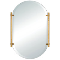 Sterling 1114-380 Actors Chapel 30 X 20 inch Gold Wall Mirror