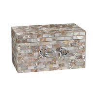 Sterling Mother of Pearl Box in Mother of Pearl 112-1154