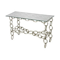 Sterling 114-104 Chain 50 X 16 inch Silver Console Table Home Decor