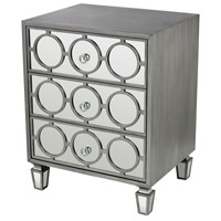 Sterling Platinum Chest in Clear Mirror and Silver 114-149