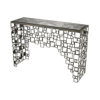 Sterling Alvis Console in Transitional Silver 114-36