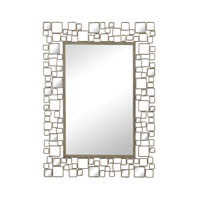 Alvis 43 X 31 inch Transitional Silver Mirror Home Decor