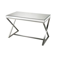 Sterling Klein Desk in Clear and Chrome 114-42