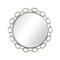 Sterling Erin Mirror in Clear and Silver Leaf 114-44