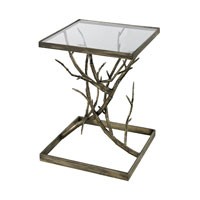 Sterling Branch Accent Table in Blackened Silver 114-61