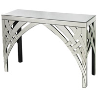 Ribbons 46 X 16 inch Clear Console Table Home Decor
