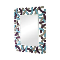Sterling Colored Glass Mirror in Multicolored 114-68