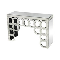 Rings 45 X 15 inch Silver Console Table Home Decor