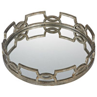 Sterling Iron Scroll Tray in Antique Silver 114-89