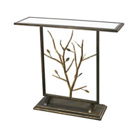 Branch 40 X 12 inch Bronze Console Table Home Decor