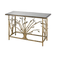 Sterling Branch Console Table in Gold 114-95