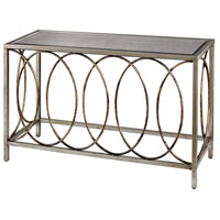 Rings 47 X 16 inch Antique Gold and Silver Console Table Home Decor