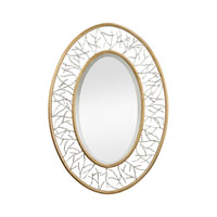 Sterling Branch Mirror in Gold 114-98