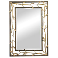 Sterling Branch Mirror in Gold 114-99