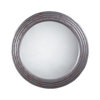 Sterling Industries Vintage Industrial Mirror in Rust 116-004 photo thumbnail