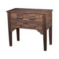 Sterling Industries Chest Of Solid Wood Drawers in Stained Wood 116-007