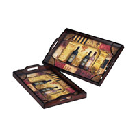 Sterling Industries Set Of 2 Trays 118-001