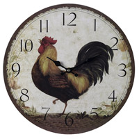Sterling Industries Rooster Clock - Large 118-031