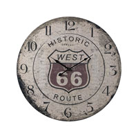 Sterling Industries Route 66 Clock 118-036