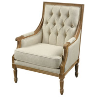 Lucrezia Lotus Linen with Washed Wood Chair