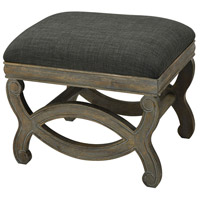 Five Boroughs Brown and Grey with Forest Floor Linen Bench Home Decor
