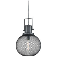 Mic Drop 1 Light 12 inch Oil Rubbed Bronze Pendant Ceiling Light