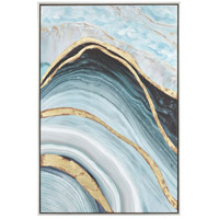 Sterling 1219-022 Above The Firmament Blue and Green with Gold Wall Art