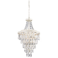 Sterling 122-002 Crystal 1 Light 11 inch Pendant Ceiling Light photo thumbnail