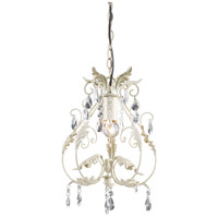 Crystal 1 Light 11 inch Pendant Ceiling Light