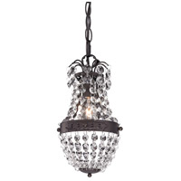 Sterling 122-016 Signature 1 Light 5 inch Dark Bronze Pendant Ceiling Light