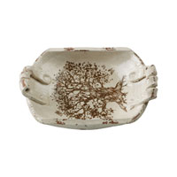 Sterling Industries Terracotta Dish Decorative Accessory in Antique Cream Glaze 125-007 photo thumbnail
