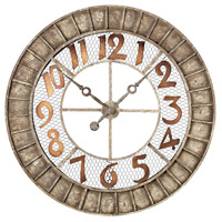 Sterling 128-1001 Metal Outdoor 36 X 36 inch Wall Clock