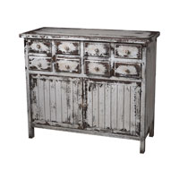 Sterling Industries Chest In Heavliy Distressed White Finish in Monta White 128-1023