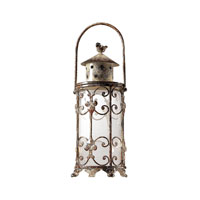 Sterling Industries Mini Hurricane Lantern - Round Decorative Accessory in Barbaca 129-1001
