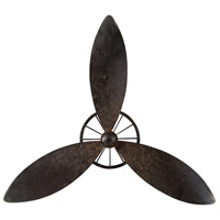 Sterling Industries Industrial Fan Blade Wall Decor Decorative Accessory in Restoration Rusted Black 129-1004