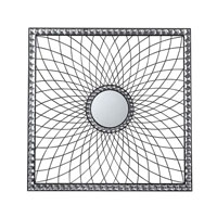 Sterling Industries Firth Mirror in Clear and Silver 129-1014