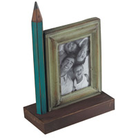 Sterling Industries Pencil Picture Frame (Lg) in Bassit Green / Blue 129-1047