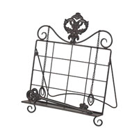 Sterling Industries Iron Book Stand in Bronze 129-1065